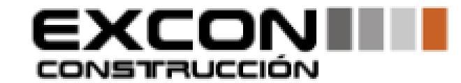 logotipo de la empresa Constructora Excon