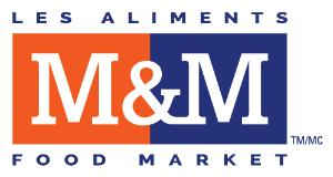 Logo M&M Food Market