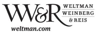 Weltman, Weinberg & Reis Co.
