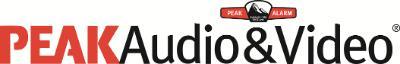 Peak Audio & Video logo