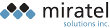 Miratel Solutions logo