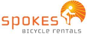 Spokes Bicycle Rentals logo