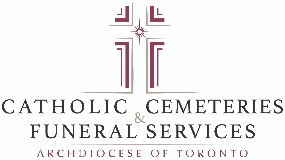 Catholic Cemeteries - Archdiocese of Toronto logo