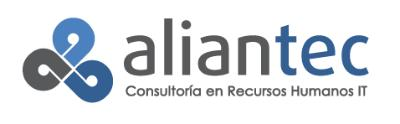 logotipo de la empresa Aliantec