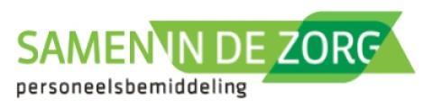 Logo van Samen in de Zorg