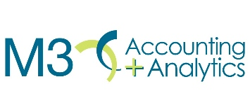 M3 Accounting + Analytics