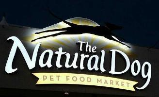 The Natural Dog logo