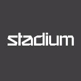 Logotyp för Stadium