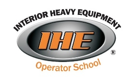 Interior Heavy Equipment Operator School