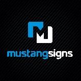 Mustang Signs & Graphics logo