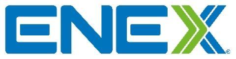logotipo de la empresa ENEX