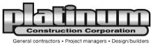 PLATINUM CONSTRUCTION CORPORATION logo