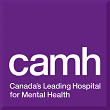 Centre for Addiction and Mental Health logo
