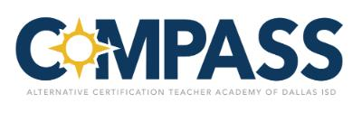 dallas independent school district compass alternative certification teacher