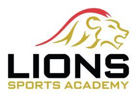 Lions Sports Academy logo