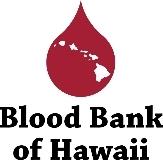 The Blood Bank Of Hawaii logo