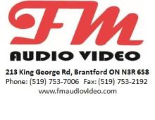FM Audio Video logo