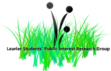 Laurier Students' Public Interest Research Group logo