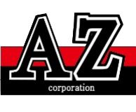 株式会社AZのロゴ