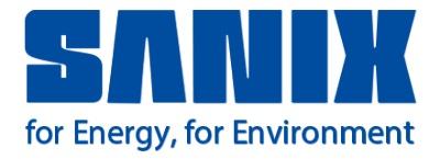 株式会社 サニックスのロゴ