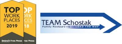 TEAM Schostak Family Restaurants logo