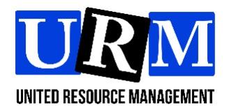 United Resource Management logo