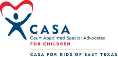 CASA for Kids of East Texas logo