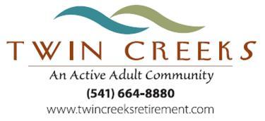 Twin Creeks Retirement logo