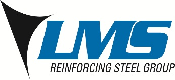 Logo LMS Reinforcing Steel Group
