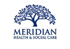 Meridian Health and Social Care logo