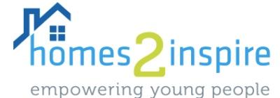 Homes2Inspire logo