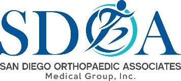 San Diego Orthopaedic Associates Medical Group logo