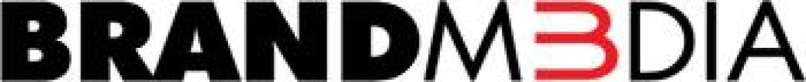 Brand M3dia logo