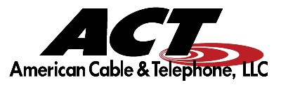 ACT (American Cable and Telephone) logo