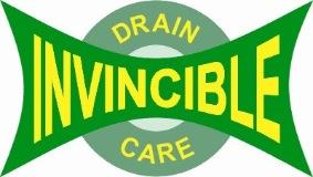 Invincible Drain Care logo