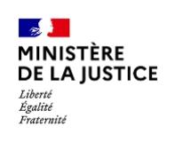 Ministère de la Justice: accéder à la page entreprise