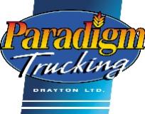 Logo Paradigm Trucking