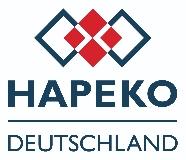 Unternehmensprofil von HAPEKO Deutschland aufrufen