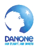 Nutricia, part of the Danone Group logo
