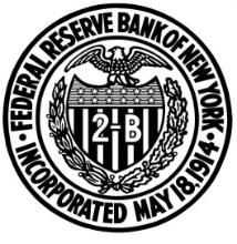 Federal Reserve Bank of New York logo