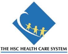 The HSC Health Care System logo
