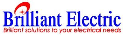 Brilliant Homes Inc. Brilliant Electric logo
