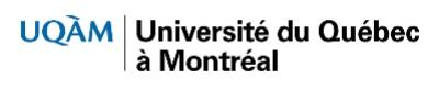 Université du Québec à Montréal logo