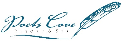 Poets Cove Resort and Spa logo