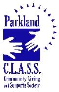 Logo Parkland Community Living and Supports Society