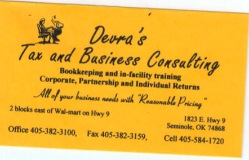 Devra's Tax and Business Consulting