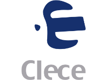 logotipo de la empresa CLECE