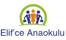 Elif'ce Anaokulu'in logosu