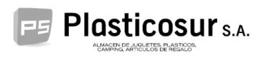 logotipo de la empresa PLASTICOSUR SA