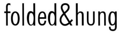 Image result for folded and hung logo